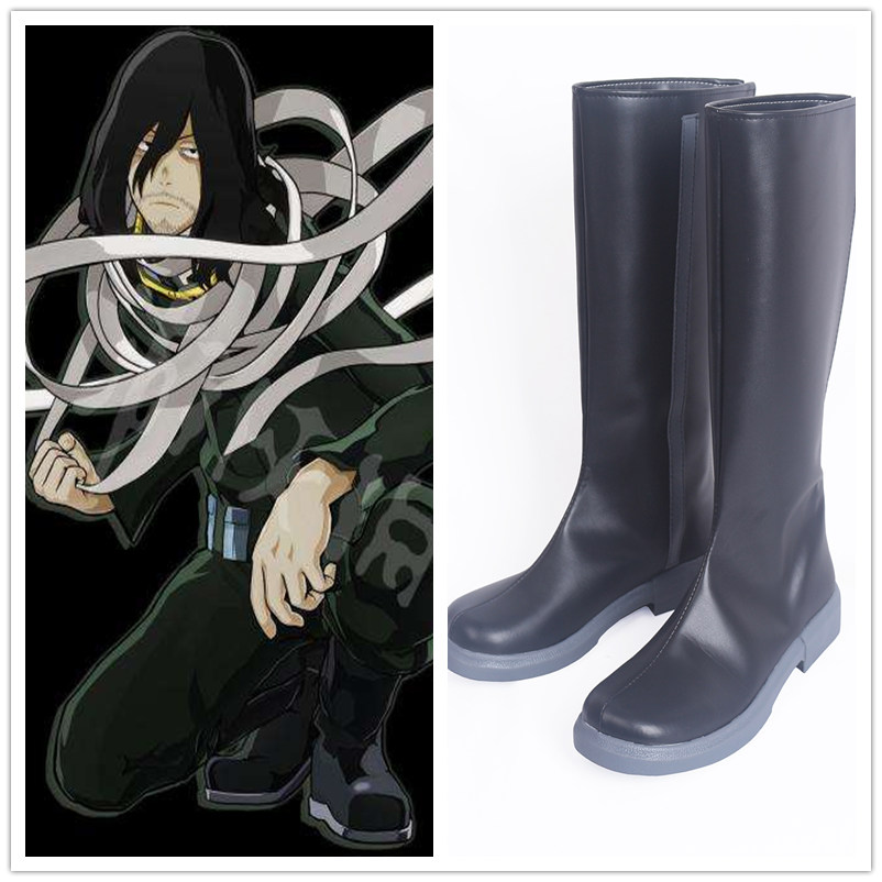Anime My Hero Academia Shota Aizawa Eraser Head Cosplay Adult Men Women Boku no Hero Academia Halloween Party Cosplay Shoes