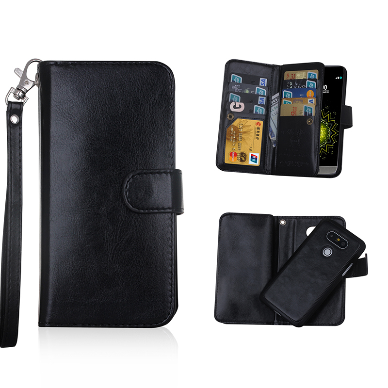 best sneakers 33a70 b5835 US $12.59 |Multi Functional G3 Wallet Case For LG G5 Cases Removable Cover  9 Card Slots Pu Leather Case for LG G4 Purse Bag-in Wallet Cases from ...