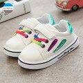 2017 Осень дети повседневная shoes 1 до 5 лет ребенок мальчик и девочка shoes высокое качество моды дети тапки малышей shoes