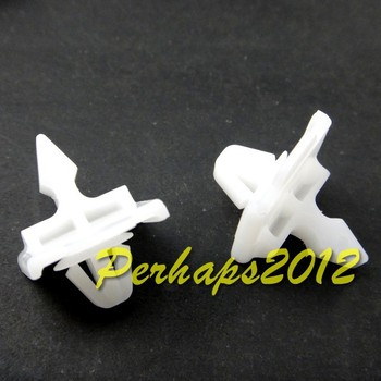 500x for Mercedes W124 W201 190D 300E 400E Front Fender Lower Panel Moulding Clips 001-988-49-81