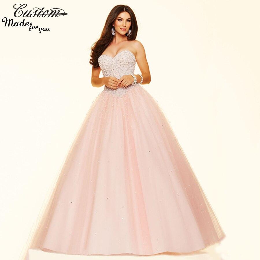 Online Get Cheap Puffy Light Pink Dresses -Aliexpress.com ...