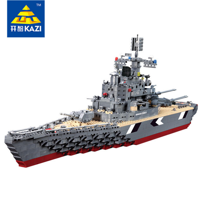 Здесь продается  Military Transport Bricks Blocks Destroyer 1 PC with Military Battleship Gift Toys for Children Technic Kazi 82012  Игрушки и Хобби
