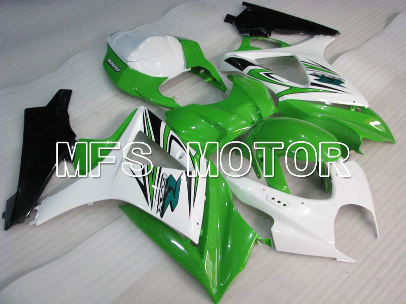 For Suzuki GSXR 1000 K7 2007 2008 Injection ABS Fairing Kits GSXR1000 K7 07 08 - Others - White/Black/Green motorcycle fairing kit for suzuki gsxr1000 07 08 gsxr 1000 k7 2007 2008 gsxr1000 abs white blue fairings set 7gifts ss01