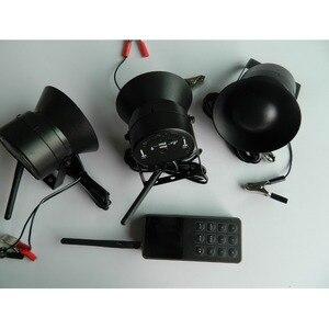 Image 4 - ברווז עבור ציד הפתיונות ציפור מתקשר מלכודת צליל מכשיר אלקטרוניקה ציפורים נגן מרחוק בקר עם 3*50 w רמקול