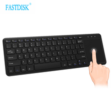 Wireless 2.4G Multimedia Mini Keyboard Touchpad For PC Computer Smart TV HTPC IPTV Android Box