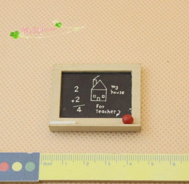 Mini Doll House Accessories Mini Model Kids Room Accessories Blackboard Add Fun