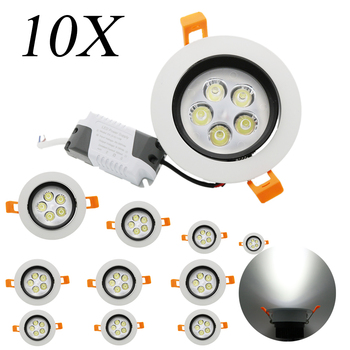 10X led ceiling spotlights Promotion Price High Quality 5W AC85-265V Three Years Warranty LED CE Certification For Home Lighting