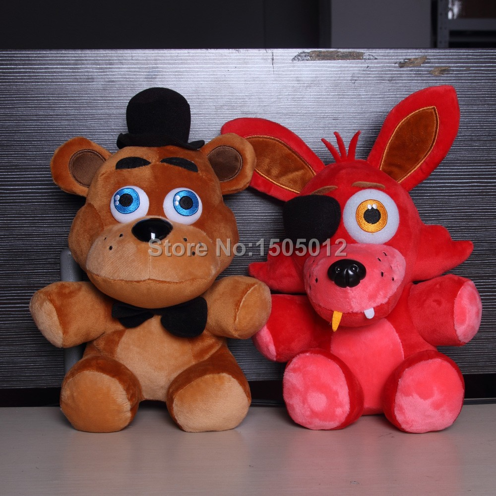 5 Nights At Freddys Toys For Sale - Original five nights at freddy s 4 fnaf foxy freddy fazbear doll plush toys 10 in hair clips pins from beauty health on aliexpress com alibaba group