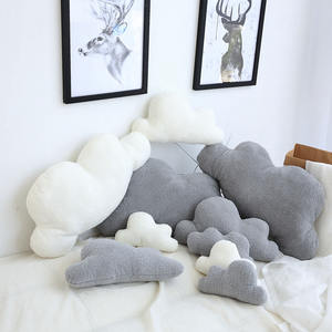 Pillow-Cushion Bedding Plush-Toy Gift Birthday-Present Stuffed Cloud-Shaped Home-Decoration