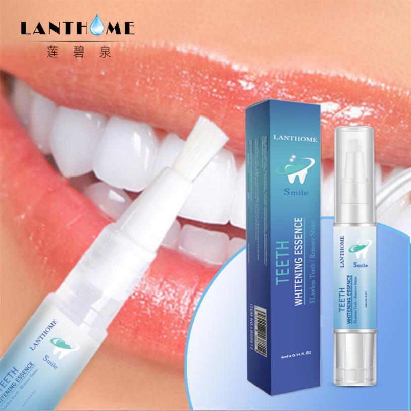 4ML 3D White Teeth Whitening Pen Tooth Gel Whitener Bleach Remove Stains Oral Hygiene Instant Smile Pro Nano Teeth Whitening Kit