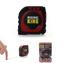 Newly 2018 Measure King 3-in-1 Digital Tape Measure String Mode Sonic Mode Roller Mode Universal Measuring Tool High Quality