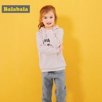 balabala baby girls clothes set suits toddler kids clothing autumn hoodies+Pants hot sale two pcs sets cartoon clothes for girls
