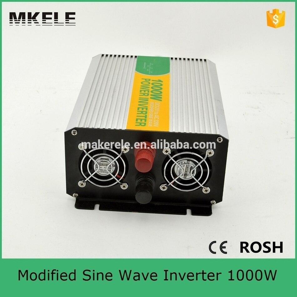 Inverters For Sale >> Us 45 76 12 Off Mkm1000 122g Modified Sine Wave 1000w 110v 220v Inverter 12vdc To 220vac 1000w Inverter Off Grid Inverters For Sale In Inverters