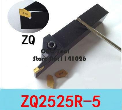 ZQ2525R-3 25*25mm External Grooving Cut-Off holder Slotting Cutter 3mm SP300