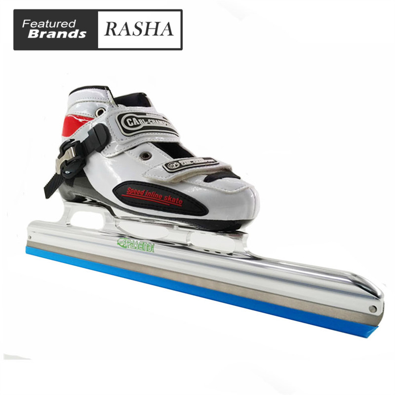 Prix pour CARL Champion glace de patinage chaussures noir blanc patins à roulettes pour le Hockey shooes chaussures De Glace
