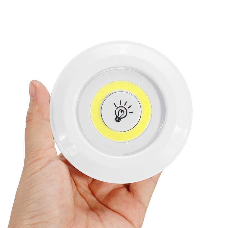 Luces LED regulables bajo la luz del armario con Control remoto inalámbrico, armarios LED con batería para iluminación del armario del baño