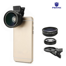 PERAK Mobile Phone Camera Lens 2 in 1 Wide Angle Lens Lente For iPhone 7 7plus 6S 6 plus Samsung s6 s7 edge s8 Macro Lens Lentes sirui 18mm wide angle lens fisheye 10x macro lens phone lense for iphone 7 8 plus xr xs samsung s8 s9 s10 plus note10 huawei p30