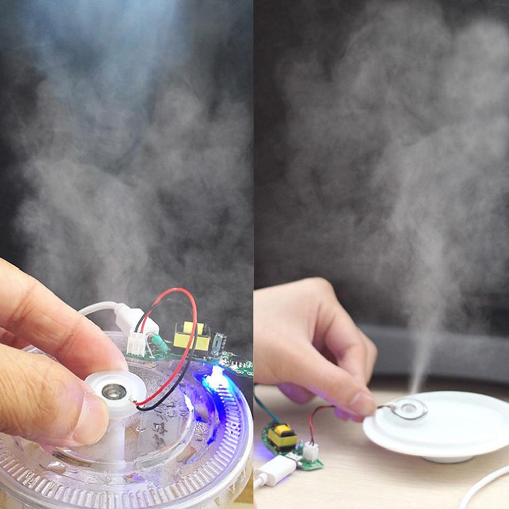 16mm 1.5-3W DIY Moisturizing Transducer Mist Maker Atomizer Film Plate Accessories Ultrasonic Humidifier Rubber Gasket Millipore