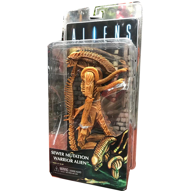 Aliens Sewer Mutation Warrior Alien PVC Action Figure Toy (3)