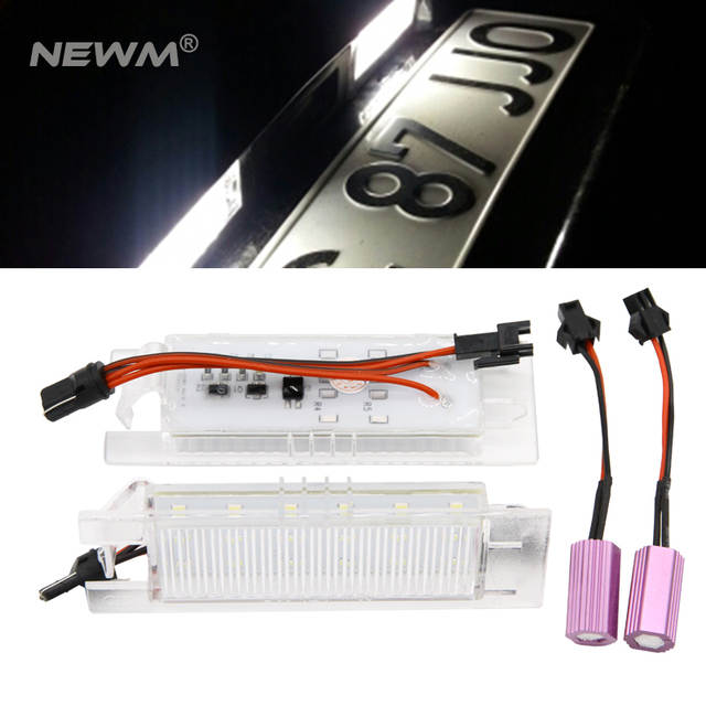 Awesome Online Shop 18 Leds License Number Plate Light Canbus For Vauxhall Wiring Database Heeveyuccorg