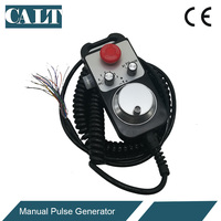 CALT CNC Controller Hand wheel Encoder 6 axles MPG Manual Pulse Generator with E stop Milling Machine TM1474 100BSL5