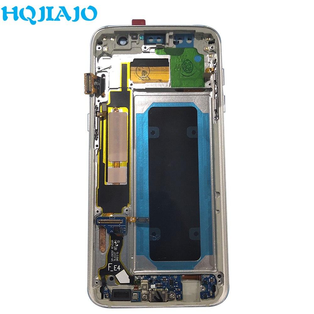 Écran LCD Super AMOLED pour Samsung Galaxy S7 edge G935 G935 écran tactile numériseur assemblée écran LCD pour cadre Samsung G935