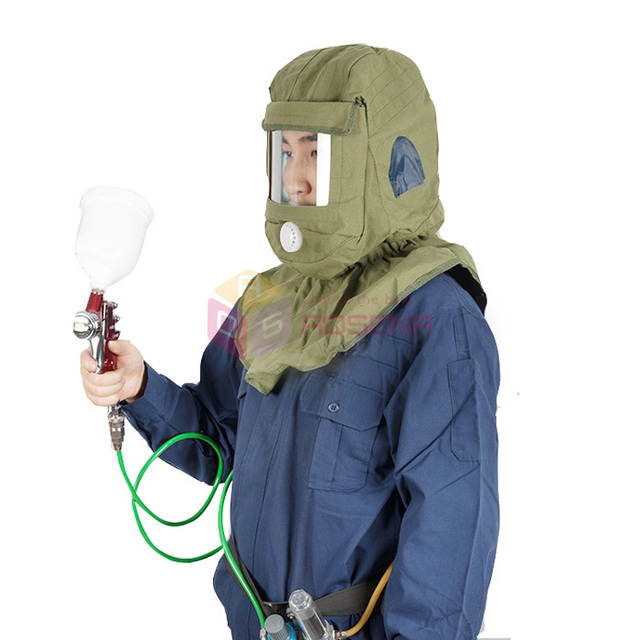 What is the filtered air filed bubble helmet called and
