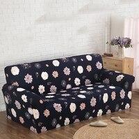 Printed Cloth Art Turnkey Antiskid Spandex Stretch Slipcover Sofa Cover Big Elastic Sofa Furniture Cover Machine
