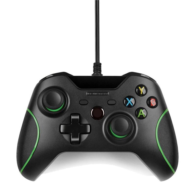 Controle USB Wired Controller Para Microsoft Xbox Um Controlador Gamepad para Xbox Um Slim PC Windows Mando Para Xbox um Joystick