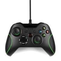 USB Có Dây Điều Khiển Controle Cho Microsoft Xbox One Khiển Gamepad đối với Xbox One Slim PC Windows Mando Đối Với Xbox one Joystick