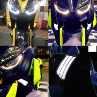 Modified Motorcycle Parts xmax Turn Signals Turning Light LED Turnlamp Yellow Winker Light for YAMAHA XMAX 250 XMAX300 2017 2018