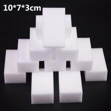 10x7x3cm 100 pz/lotto di alta qualità Magico della Spugna della Melammina spugna Pulitore Eraser per la Cucina Ufficio Bagno di pulizia