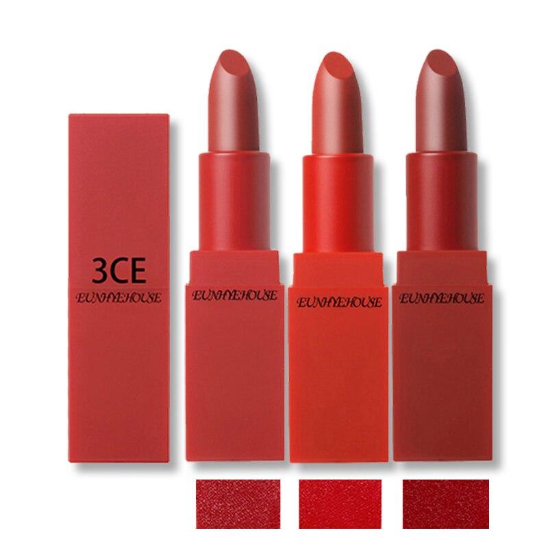 3Ce Eunhye House 2017 Makeup New 3 Colors Lipstick Matte -2163
