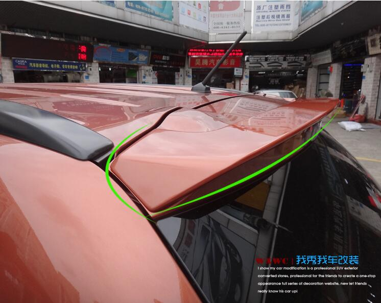JIOYNG PAINT CAR REAR WING TRUNK LIP SPOILER FOR Mitsubishi <font><b>Outlander</b></font> 2013 2014 2015 <font><b>2016</b></font> 2017 2018 FAST BY EMS image