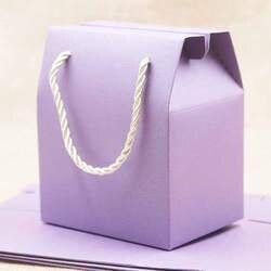 1 лот = 50 шт. подарок посылка коробка с ручкой разных цвета конфеты/свадьба/coco nut посылка коробка DIy ручной работы пустой украсить бумажный