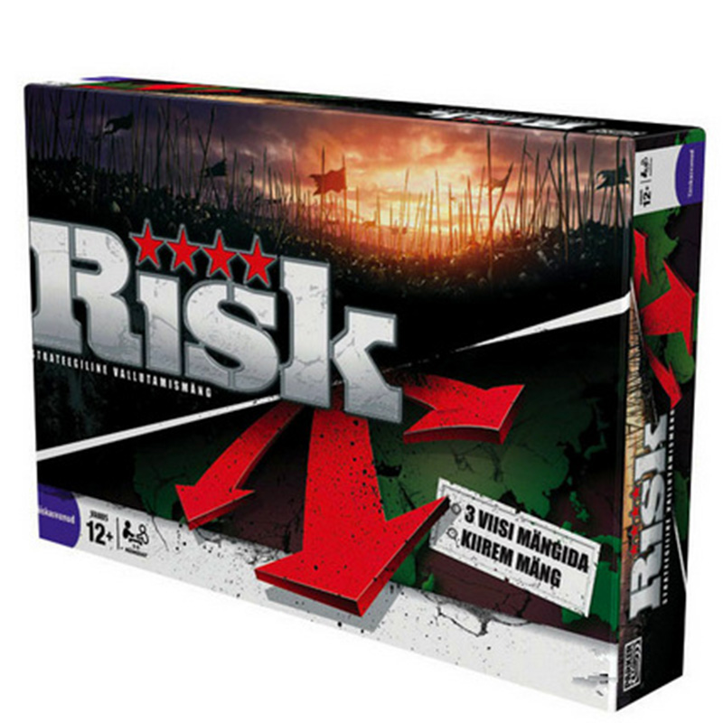 Risk Clouds Of War Games Chess Board Game RISK GAME Big Battle Puzzle Toys For Children With English Version Free Shipping board game risk 2nd version full english version high quality very suitable for the party and family