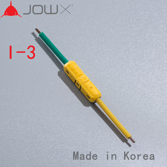 100pcs 1 Pin butt joint wire straight connect in line connector for ...