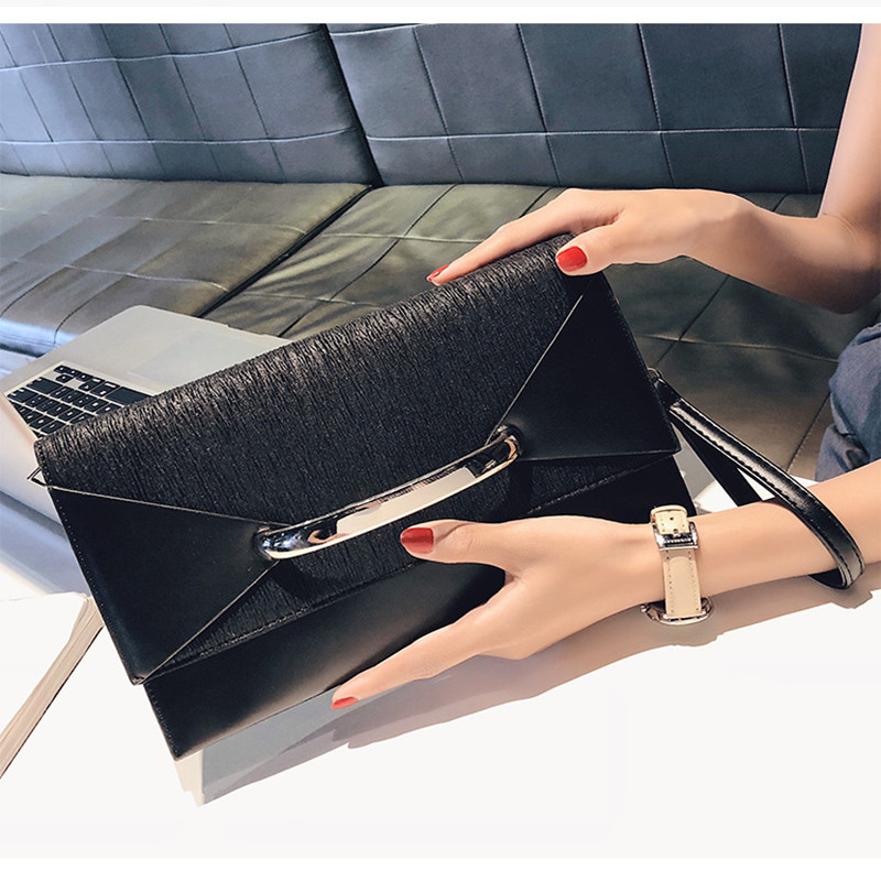 Square Handbag Women's Bag Single-Shoulder-Bag Cross Fashion Envelope New-Type Personality