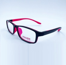 The high-end aluminum magnesium alloy ultra light spectacle frame glasses special flat mirror W6104 free shipping