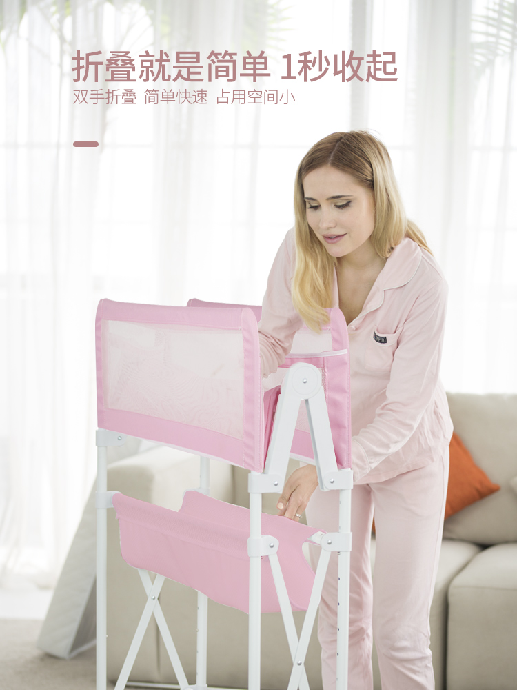 Multi-functional diaper table height adjustable baby care table foldable shower table anti-spitting milk baby cribMulti-functional diaper table height adjustable baby care table foldable shower table anti-spitting milk baby crib