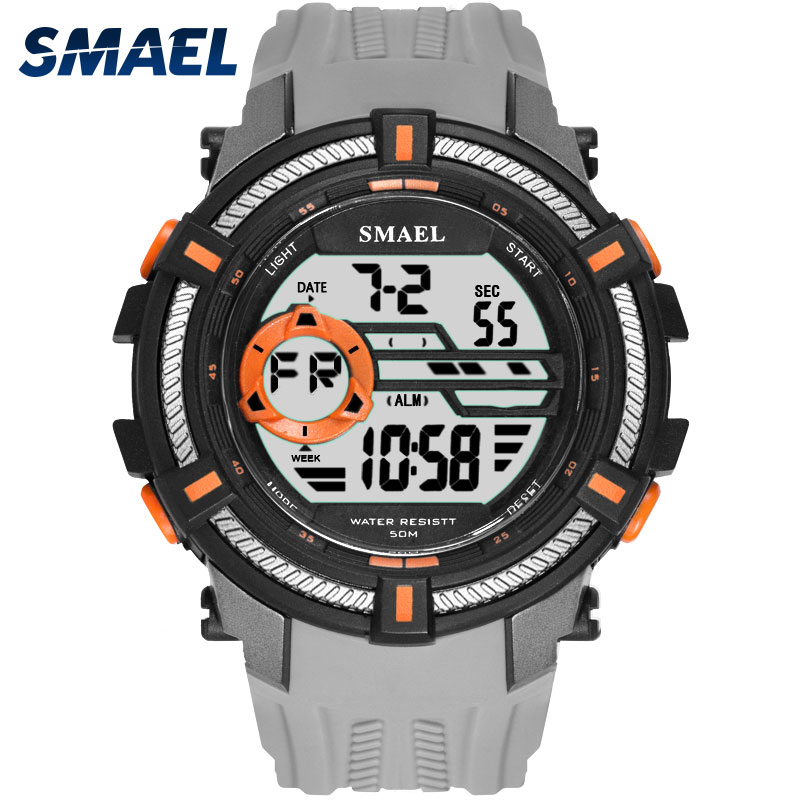 New Brand SMAEL Fashion Watch Men 5BAR Waterproof Sports Military Watches Shock Luxury Big Digital Sports Watches Men clockNew Brand SMAEL Fashion Watch Men 5BAR Waterproof Sports Military Watches Shock Luxury Big Digital Sports Watches Men clock
