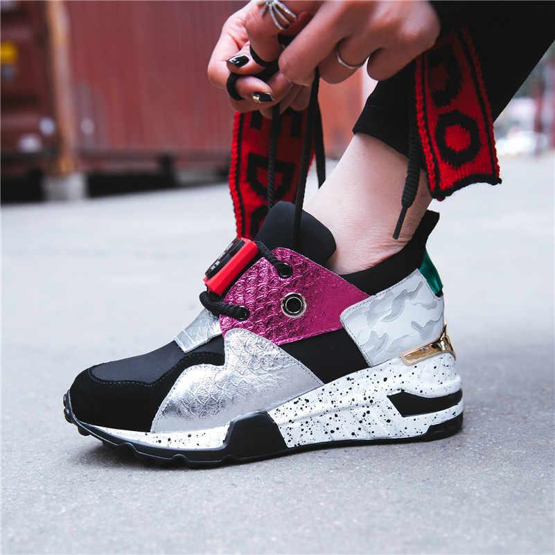 9bc2ef1a2 ... FEDONAS фирменный дизайн Для женщин натуральная Повседневная кожаная  обувь женщина Туфли без каблуков женские спортивные дышащие