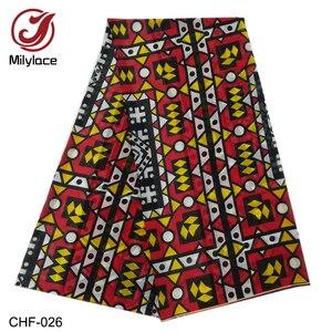 Image 5 - Afrikaanse Chiffon Digitale Bedrukte Stof Patroon Hot Selling Afrikaanse Wax Prints Chiffon Stof Voor De Zomer Jurken CHF 025 028