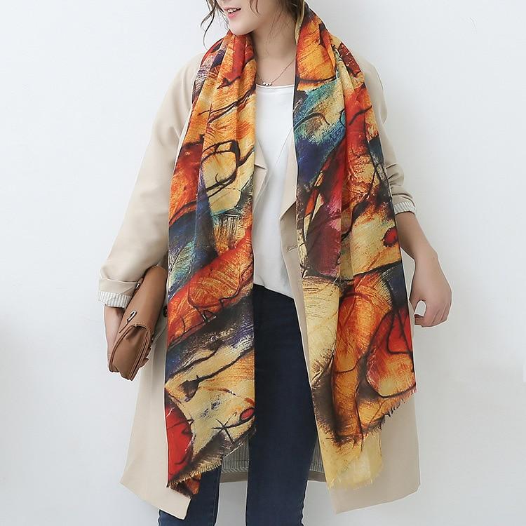 winrter big imitation cashmere scarf fees
