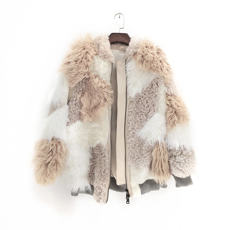 De Piel Invierno Vintage 2018 Coreano Color Auténtica Corto Delgado Pura  Ropa Otoño Abrigo Chaqueta Natural Picture Zt1310 Mujer ... 2db59dc0fa12