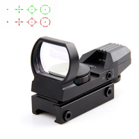 Hot 20mm Rail Riflescope Hunting Optics Holographic Red Dot Sight Reflex 4 Reticle Tactical Scope Hunting
