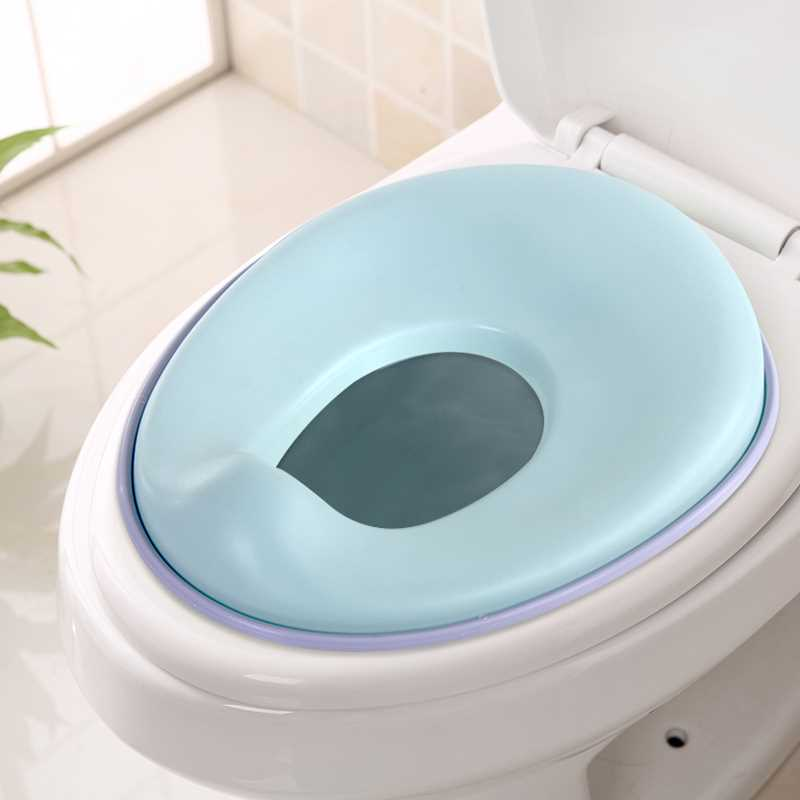 Potty Training Seat For Toddler With Hook-Toilet Seat For Boys And Girls-Comfortable,Non-Slip Kids Toilet Seat With Hanging Ring