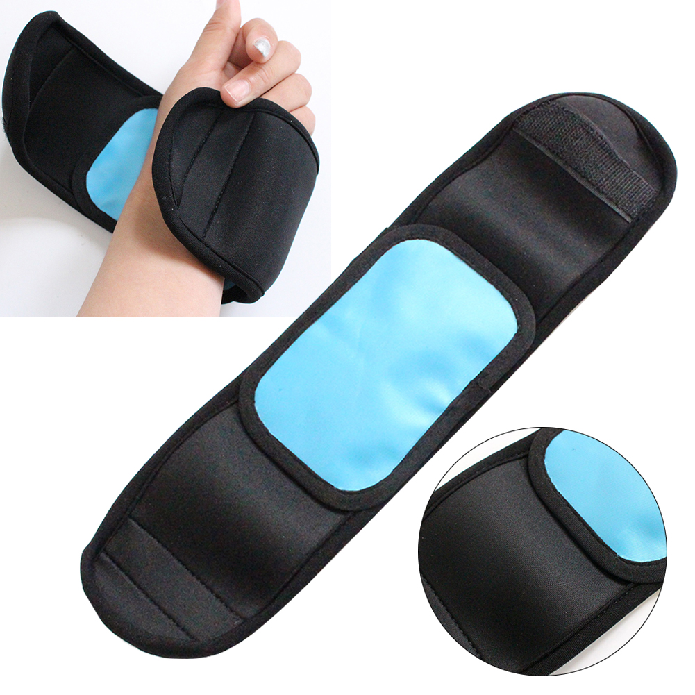Bruises Tool Foot Reusable Cold Therapy Wrap Pain Relief Sprains First Aid Gel Pack Muscle Arm Injuries Home Health Care