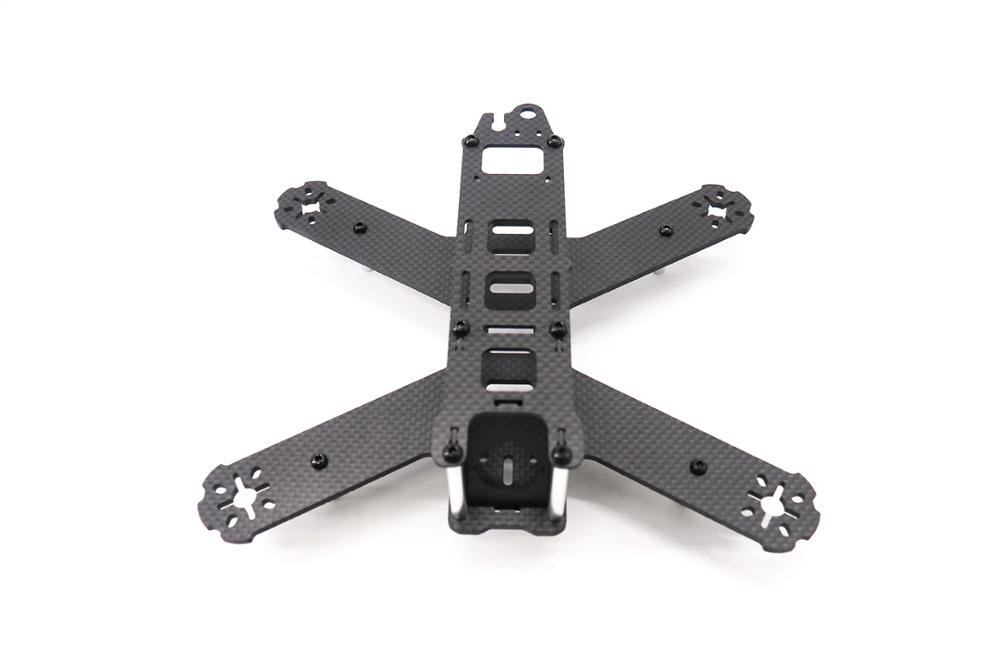 Image 2 - TCMM 5 Inch Drone Frame LS 210 Wheelbase 210mm Bottom Fuselage In One Make 3mm Carbon Fiber Arm For Rc Drone-in Parts & Accessories from Toys & Hobbies