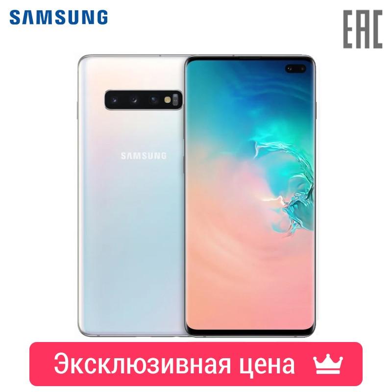 Купить со скидкой Смартфон Samsung Galaxy S10+ 8/128GB [рассрочка 0012, быстрая доставка, официальная гарантия]